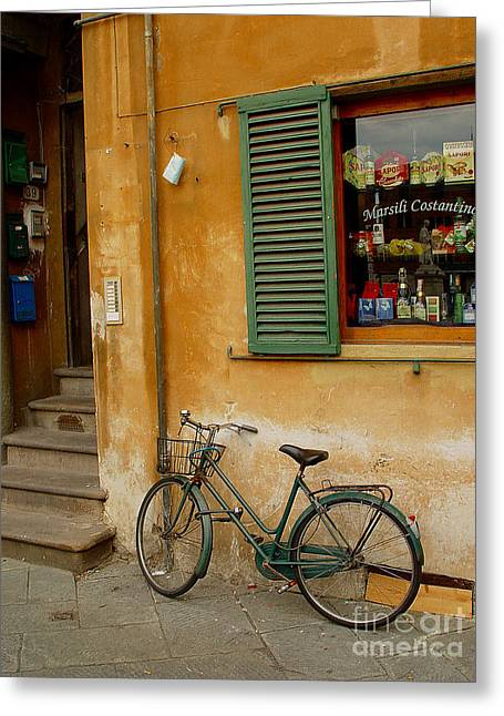 Visions Of Italy 4 Greeting Card by Nancy Bradley
