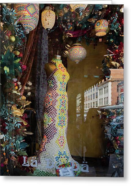 Visions Of Sugar Greeting Card by Teresa Mucha