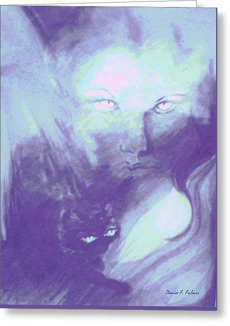 Visions Of The Night Greeting Card