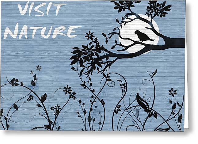 Visit Nature Greeting Card