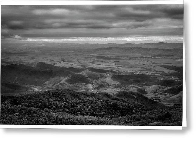 Vista Do Mirante-pico Do Itapeva-pindamonhangaba-sp Greeting Card