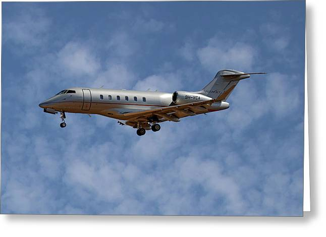 Vista Jet Bombardier Challenger 300 1 Greeting Card