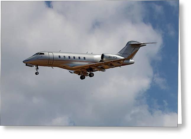 Vista Jet Bombardier Challenger 300 5 Greeting Card