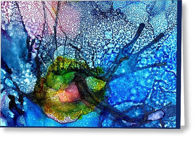 Visual Hallucinations In Mania Greeting Card