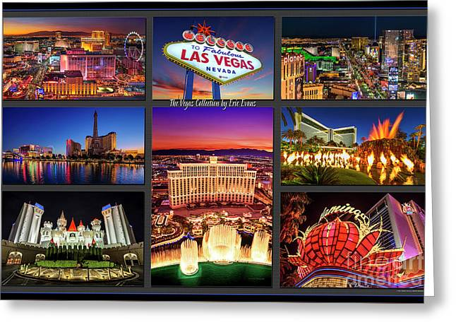 Viva Las Vegas Collection Greeting Card