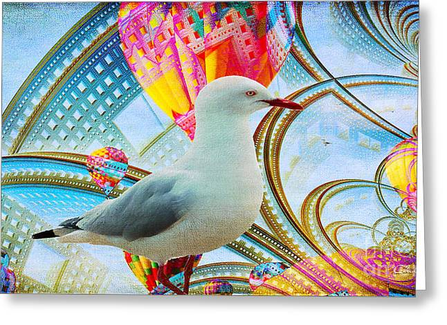 Greeting Card featuring the photograph Vivid As A Dream by Chris Armytage