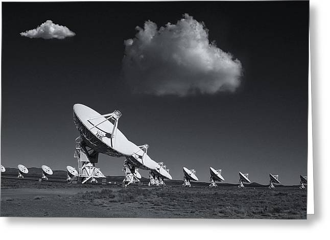 Greeting Card featuring the photograph VLA by Carolyn Dalessandro