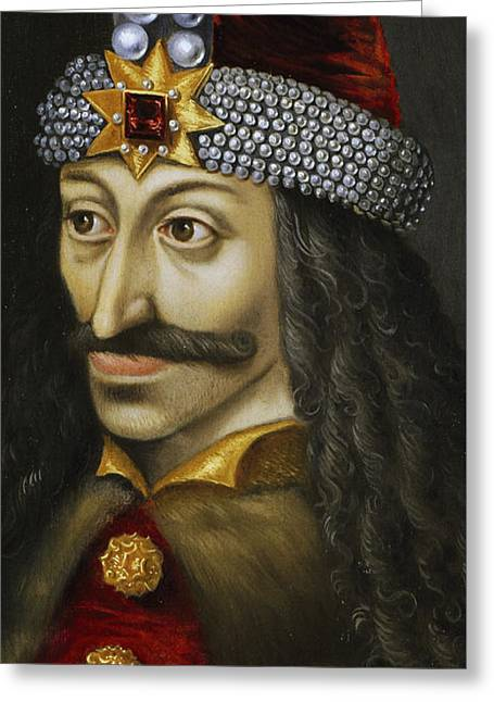 Vlad The Impaler Greeting Card by Unknown