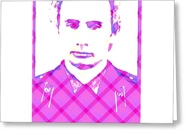 Vladimir In Pink  Greeting Card