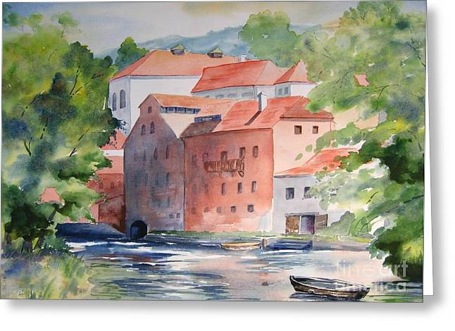 Vlatava Mill Greeting Card