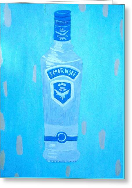 Vodka Greeting Card by Patrice Tullai