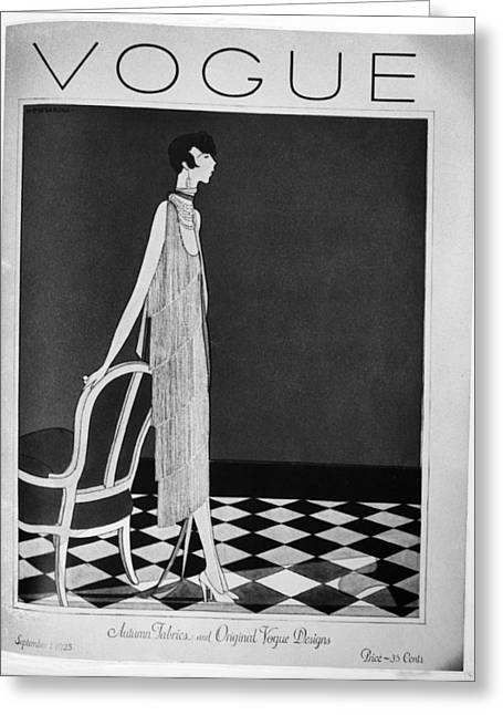 Vogue Magazine, 1925 Greeting Card by Granger