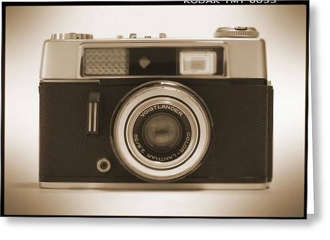 Voigtlander Rangefinder Camera Greeting Card by Mike McGlothlen