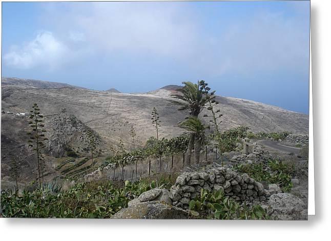 Volcanic Landscape Tenerife - Teno Alto 1 Greeting Card