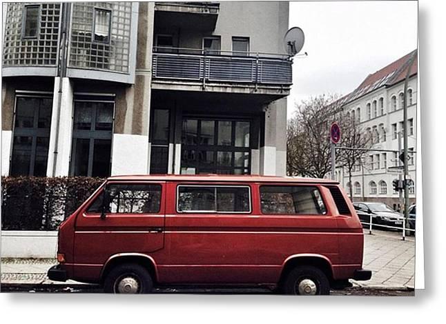 Volkswagen T3 Bus  #berlin #neukölln Greeting Card