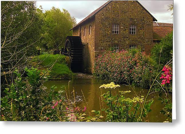 Volmolen Watermill Greeting Card