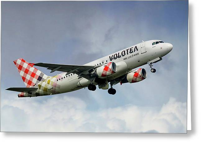 Volotea Airbus A319s Greeting Card