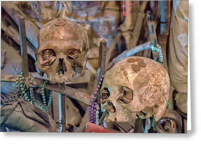 Voodoo Altar Greeting Card