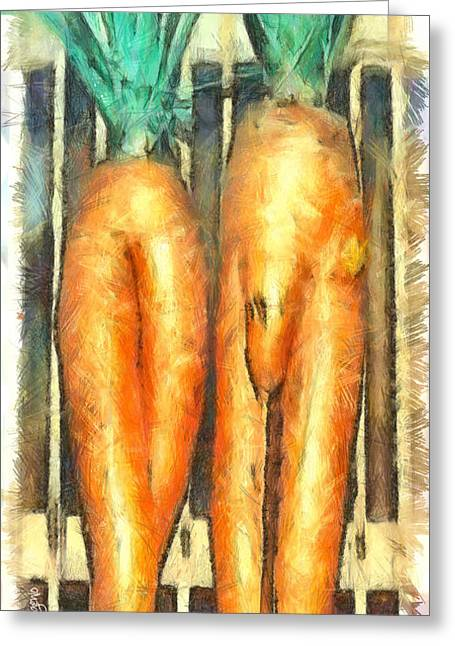 Voodoo Carrots - Pa Greeting Card