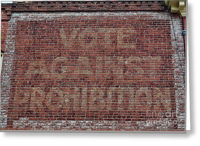 Vote Against Prohibition 2 Greeting Card