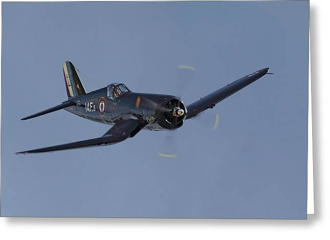 Vought Corsair Greeting Card