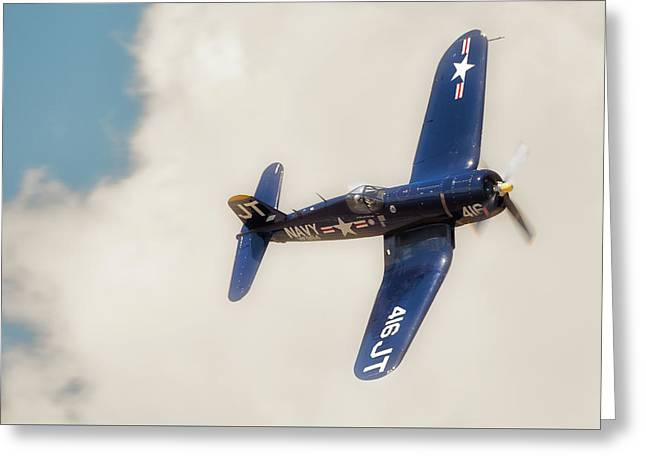 Vought F4u Corsair Greeting Card