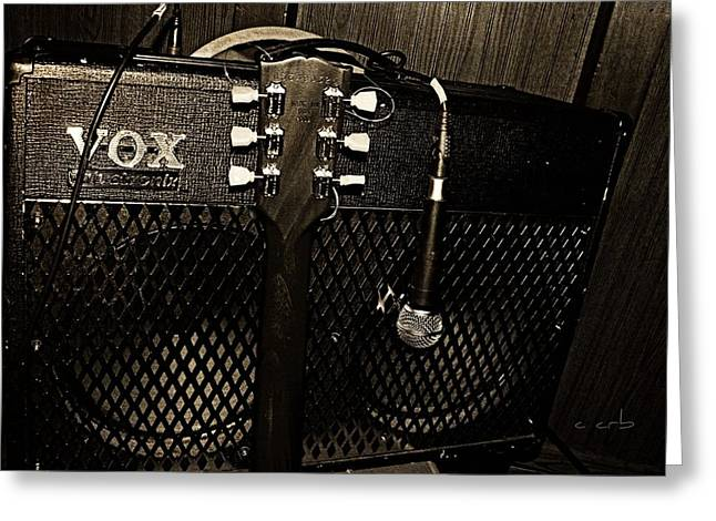 Vox Amp Greeting Card