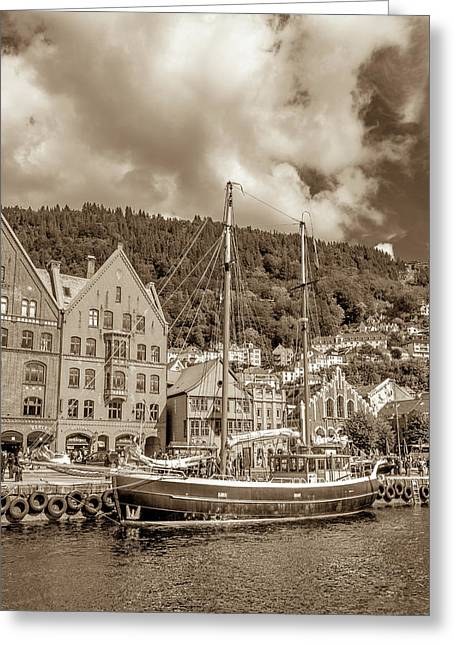 Voyages To Come Greeting Card