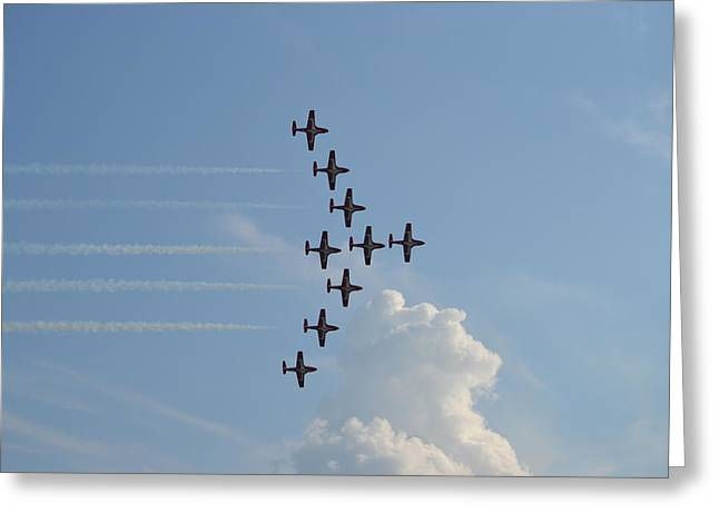 Vulcan Formation Greeting Card