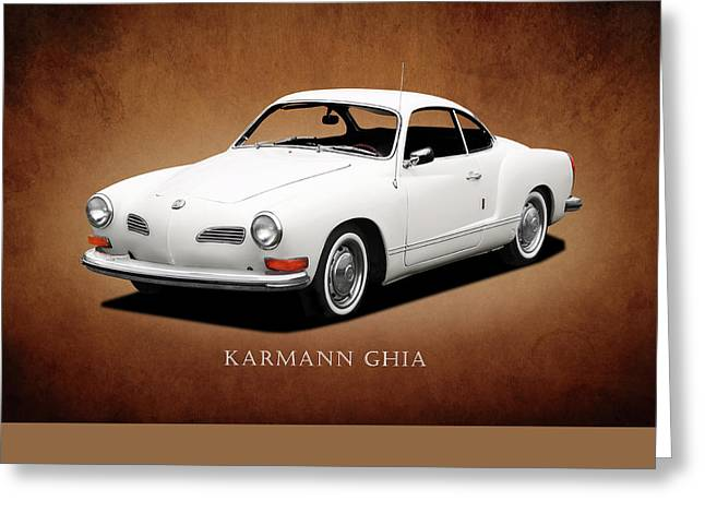 Vw Karmann Ghia Greeting Card