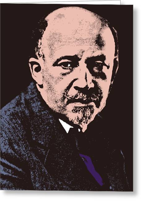 W. E. B. Du Bois Greeting Card by Otis Porritt