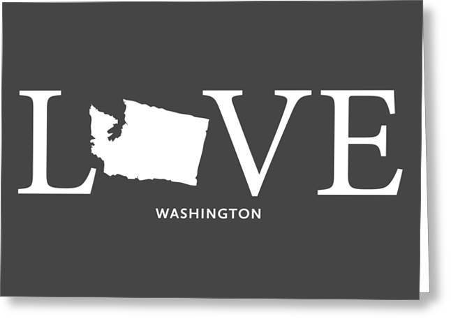 Wa Love Greeting Card by Nancy Ingersoll
