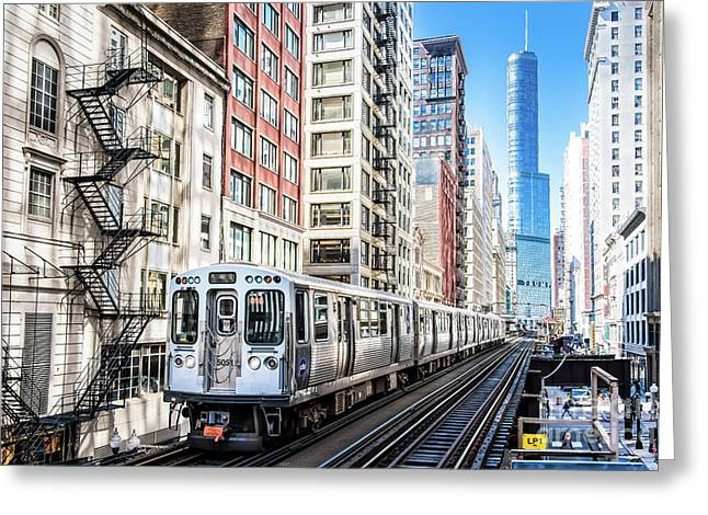 The Wabash L Train Greeting Card