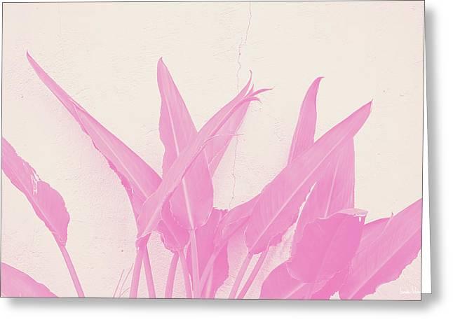 Wabi Sabi Garden 1- Art By Linda Woods Greeting Card