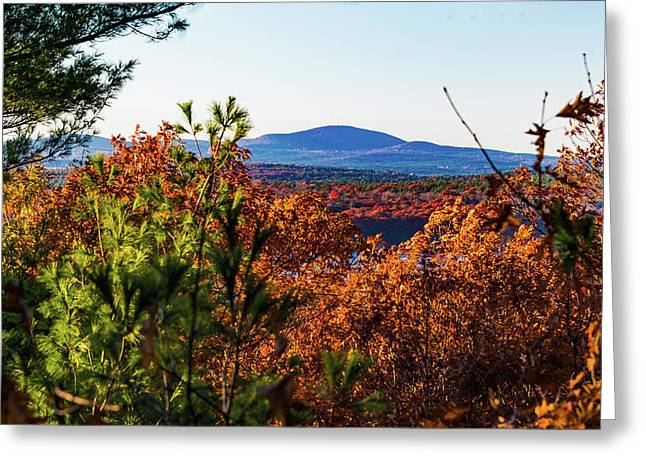 Wachusett In Fall Greeting Card