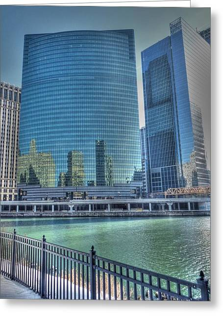 333 Greeting Cards - Wacker Drive Greeting Card by David Bearden