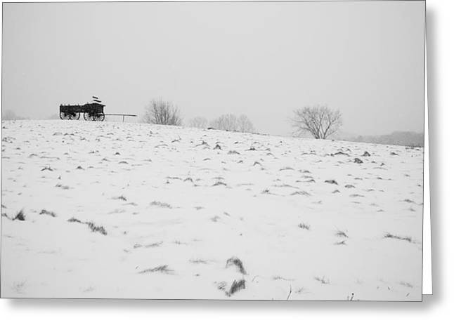 Wagon Hill Greeting Card by Edward Myers
