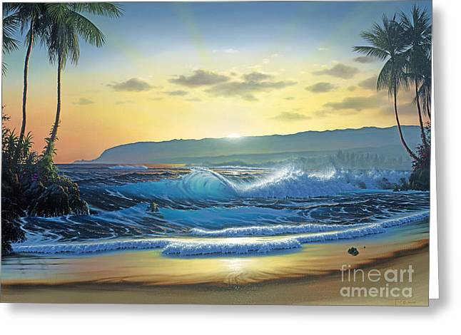 Waialua Daybreak Greeting Card