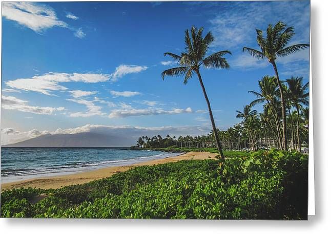 Wailea Beach Greeting Card