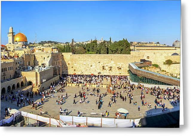 Haram Al Sharif / Temple Mount - Israel / Palestine Greeting Card by Wietse Michiels