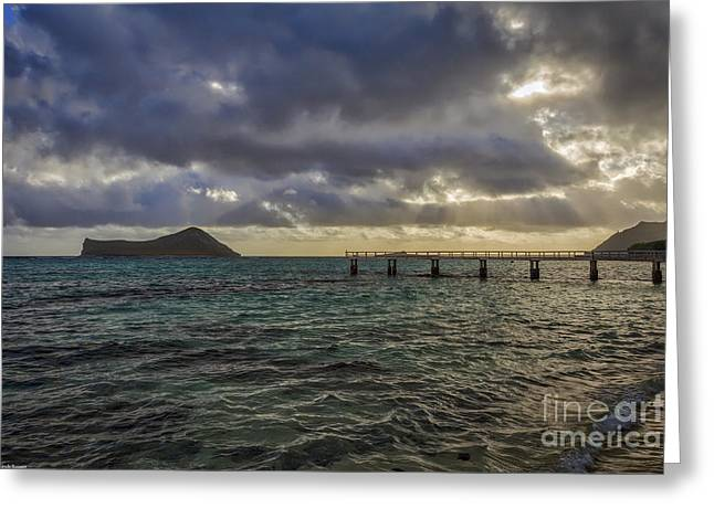 Waimanalo Blues Greeting Card
