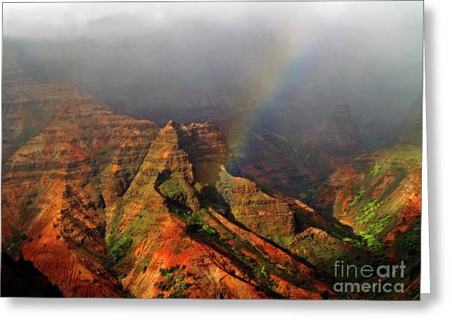 Waimea Canyon I Greeting Card