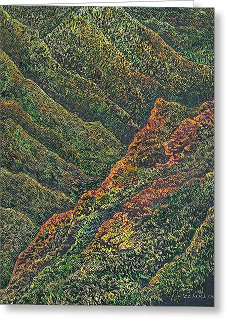 Waimea Canyon, Kauai Greeting Card