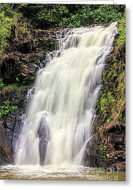 Waimea Falls Greeting Card