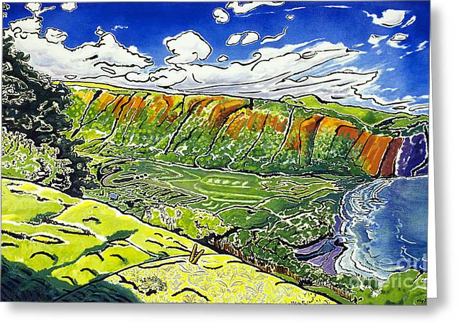 Waipio Valley Greeting Card