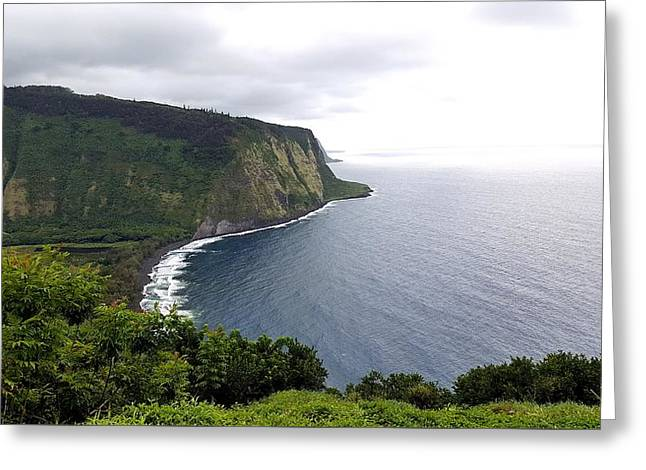 Waipio Valley Greeting Card