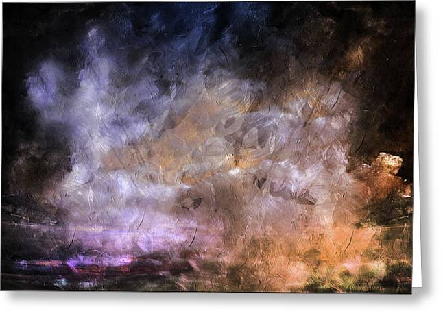 Wait For The Storm To Pass Abstract Greeting Card