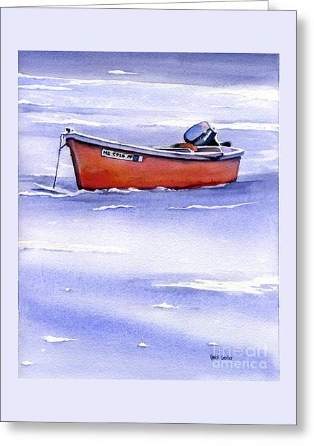 Waiting For Spring Greeting Card