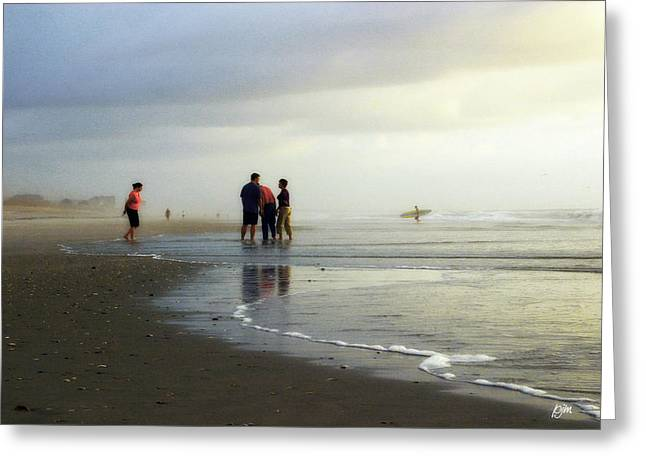 Greeting Card featuring the photograph Waiting For The Sun by Phil Mancuso