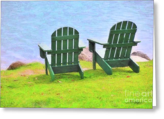 Waiting For You Greeting Card by Betty LaRue